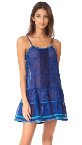 Poupette St Barth dress mini dress mini blue