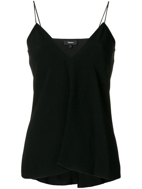 theory vest women spaghetti strap black jacket