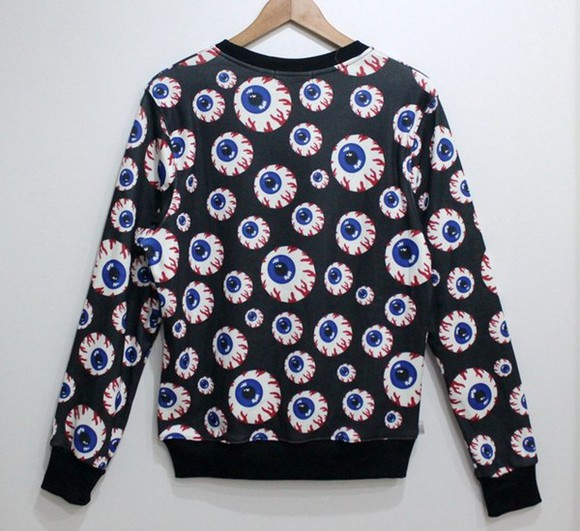 blouse sweater long sleeve unisex harajuku inspired 3d
