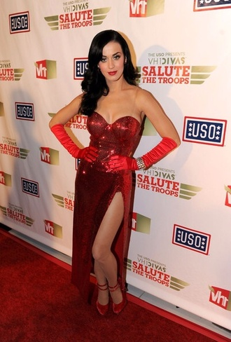dress katy perry salute the troops