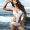 White swimsuit - paris hilton in h058 swimwear | ustrendy