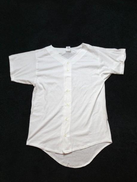 shirt white jersey shirt