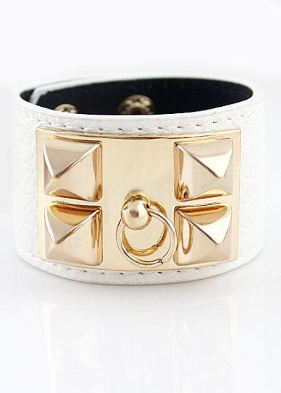 Rivet Knocker Bracelet | Outfit Made