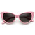 Hot Tip Pointed Vintage Cat Eye Sunglasses 8371