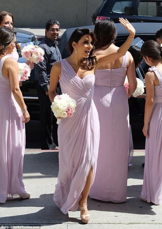 eva longoria dress purple dress one shoulder