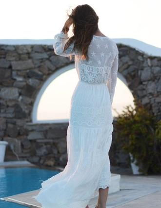 dress marc jacobs white dress dream dress romantic hipster wedding
