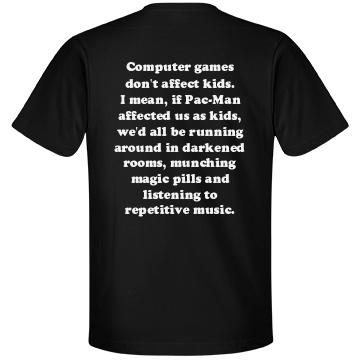 Games Don't Affect Kids - Unisex Anvil Lightweight Fashion T-Shirt - FunnyShirts.org