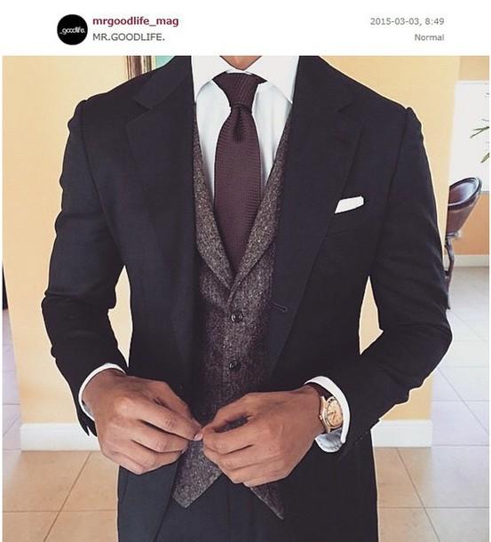 jacket tie suit cravat menswear prom menswear mens suit top prom formal watch vest coat t-shirt grey ballin black white burgundy outfit