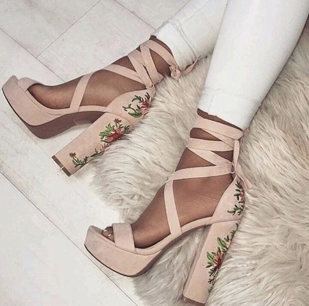 shoes rosè