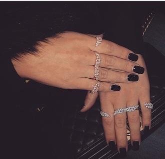 jewels hand hand jewelry bling bracelets ring/bracelet handcuffs