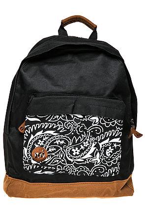 Mi-Pac Backpack Paisley in Black