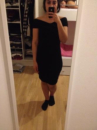 dress cross black short cross over dress black dress shortdress
