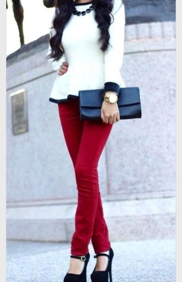 blouse long sleeves white blouse