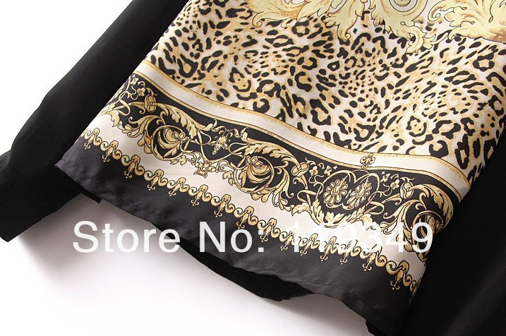 American & European style Shirt 2013 women new style blouse Pringting Design Picture color Free shipping-in Blouses & Shirts from Apparel & Accessories on Aliexpress.com