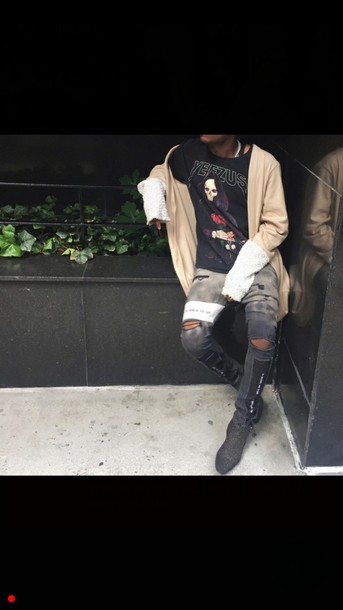 jeans top trap trill faded swag vintage rare svge
