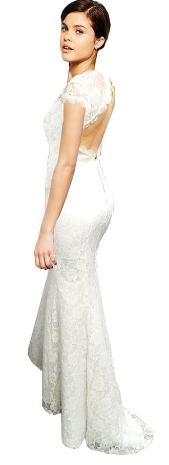 dress long dress white beautiful sexy long prom dress prom dress mermaid prom dress mermaid dresses white dress lace dress prom beauty sexy dress open back dresses open back prom dress fashion prom gown 2014 prom dresses