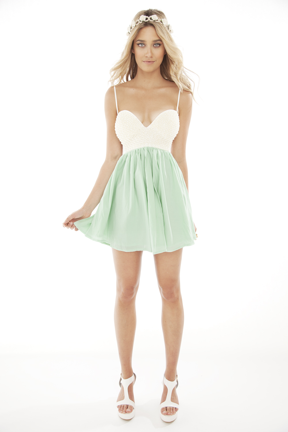 Sabo skirt  pearl tea dress