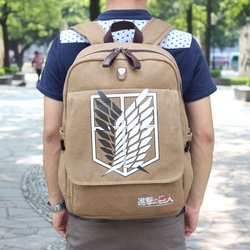 Online Shop 2014 Hot Style Variety Anime Attack On Titan Backpack Shingeki No Kyojin Cosplay Bag Schoolbag|Aliexpress Mobile
