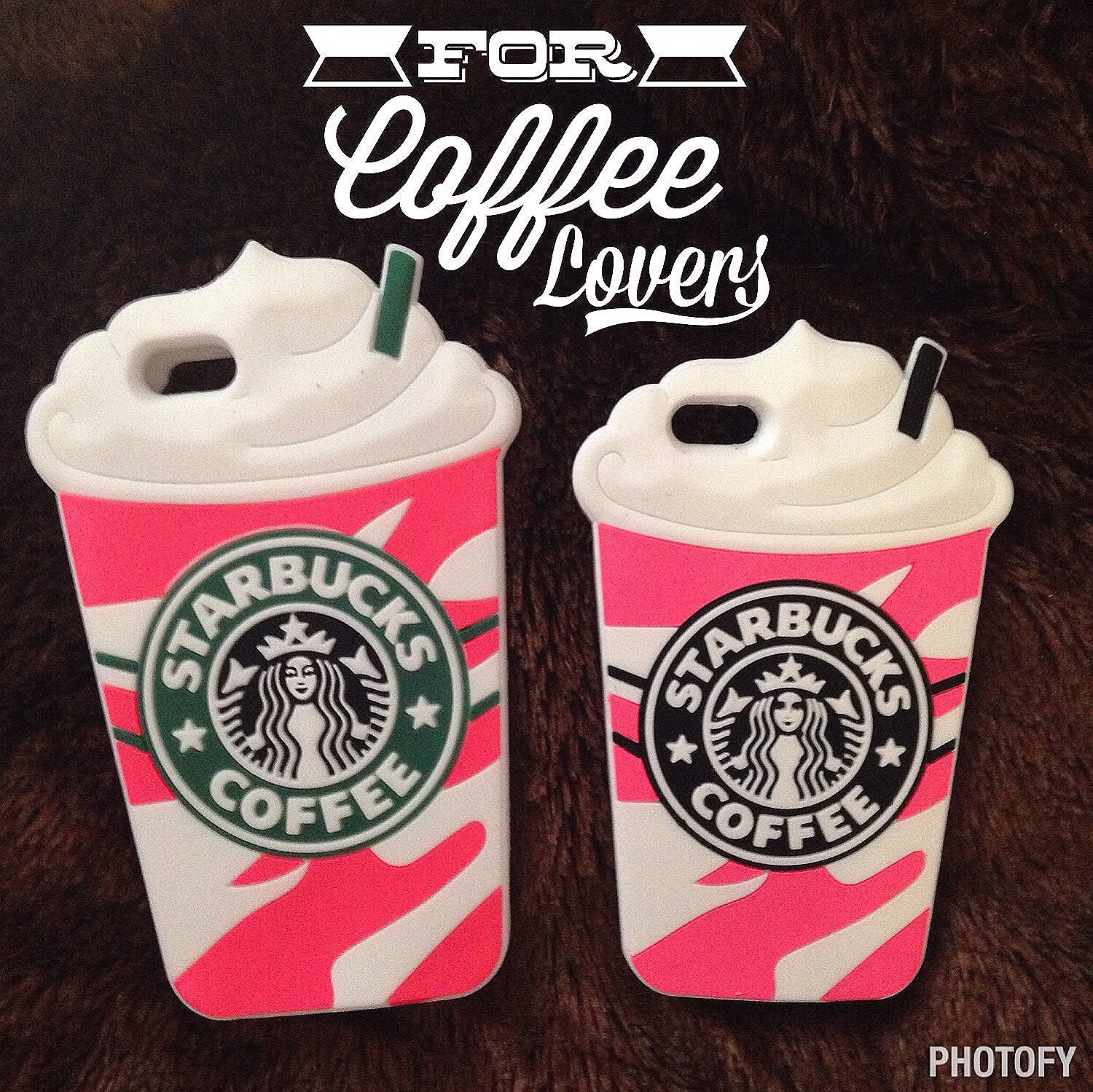 size 40 413f1 2edab Pink Starbucks Silicone Coffee Cup Case for Iphone 5/5s/5c Iphone 6
