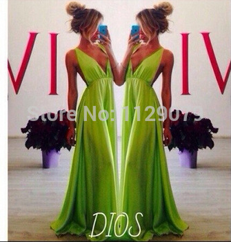 new 2014 mint nemon green summer fashion club women sexy dress prom backless high waist split maxi dress OM226-in Dresses from Apparel & Accessories on Aliexpress.com | Alibaba Group