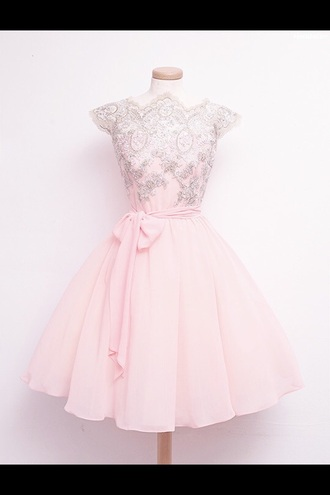 dress pink bow bow dress pink dress
