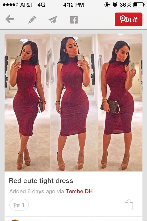 burgundy dress macaroon dress red dress bodycon dress bodycon dress maxi dress