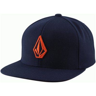Volcom El Stone Snapback Adjustable Hat - Sea Navy