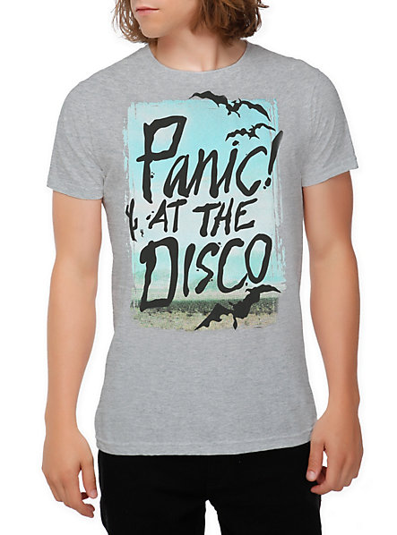 Panic! At The Disco Bats Slim-Fit T-Shirt | Hot Topic