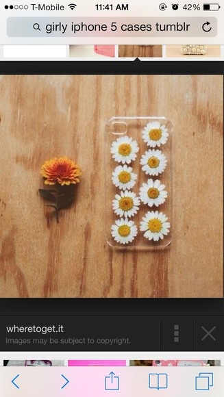 floral blouse daisy yellow iphone case iphone 5 case