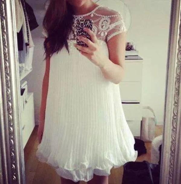 dress white dress short party dresses