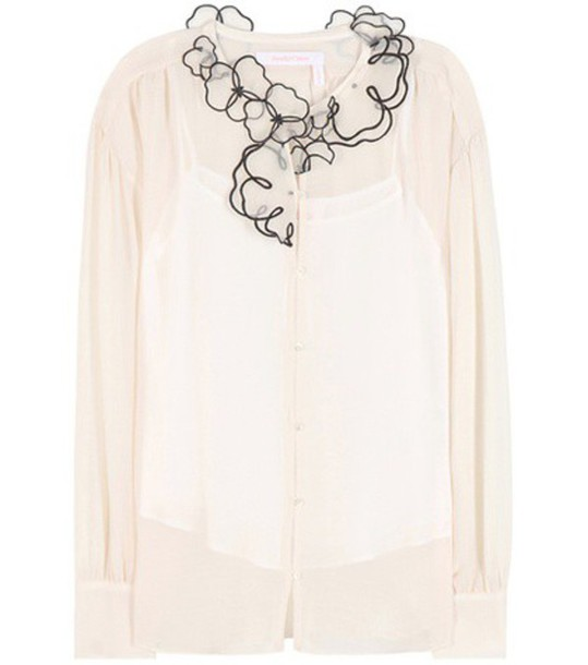 See By Chloé Shirt in white