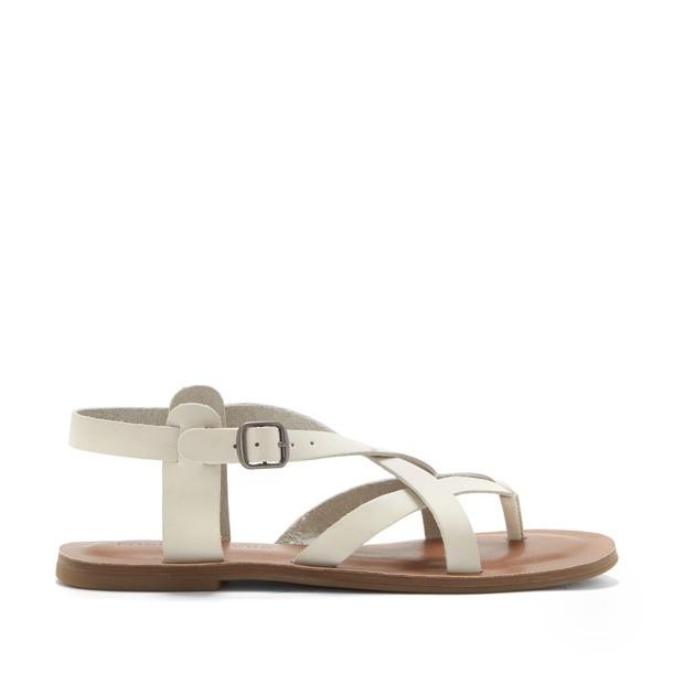 Lucky Brand Adinis  Flat Sandal - Sandshell-8.5