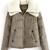 ROMWE | ROMWE Wollen Lapels White Khaki Coat, The Latest Street Fashion