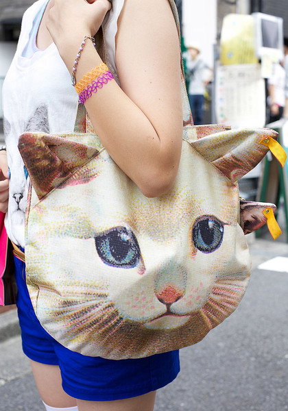 3D Cat Shoulder Bag   Purse