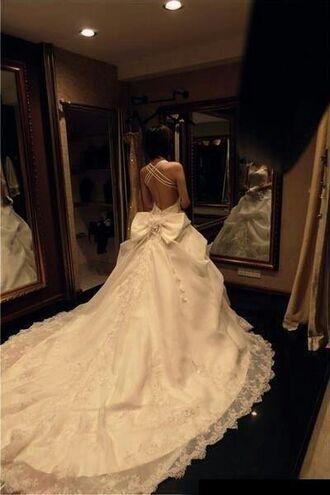 dress wedding dress love lace wedding dress mermaid wedding dress strapless wedding dresses white wedding prom dress lace top wedding dress princess wedding dresses lace angle b.e.a.u.t.i.f.u.l! cream gown wedding