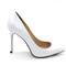 Classic white high heels