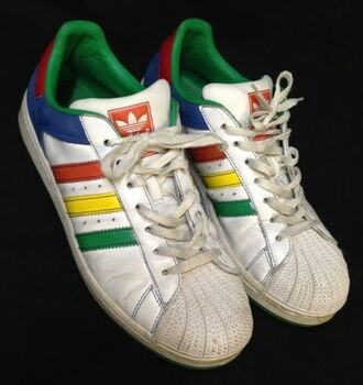 shoes rainbow adidas sports shoes