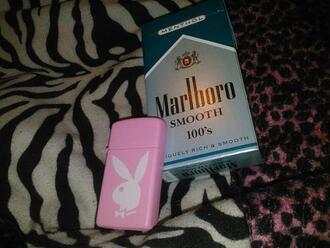 pink jewels playboy lighter