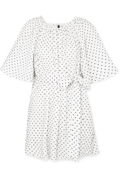 Marysia dress mini dress mini white cotton