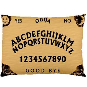 Amazon.com - Ouija Board Spooky Personalized Custom Zippered Pillow Case 16