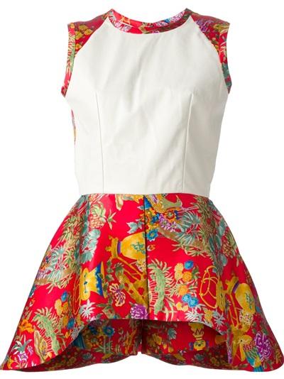 Caterina Gatta Structured Flared Dress - Dante 5 Women - Farfetch.com