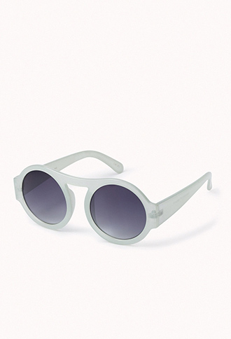 F4117 Round Sunglasses | FOREVER 21 - 1078654117