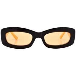 PHONER Black/Yellow Square Sunglasses