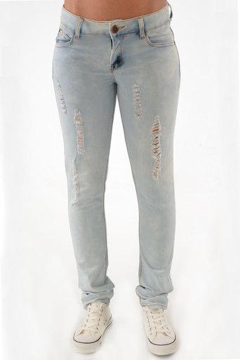 Yareli Stonewash Skinny Jean