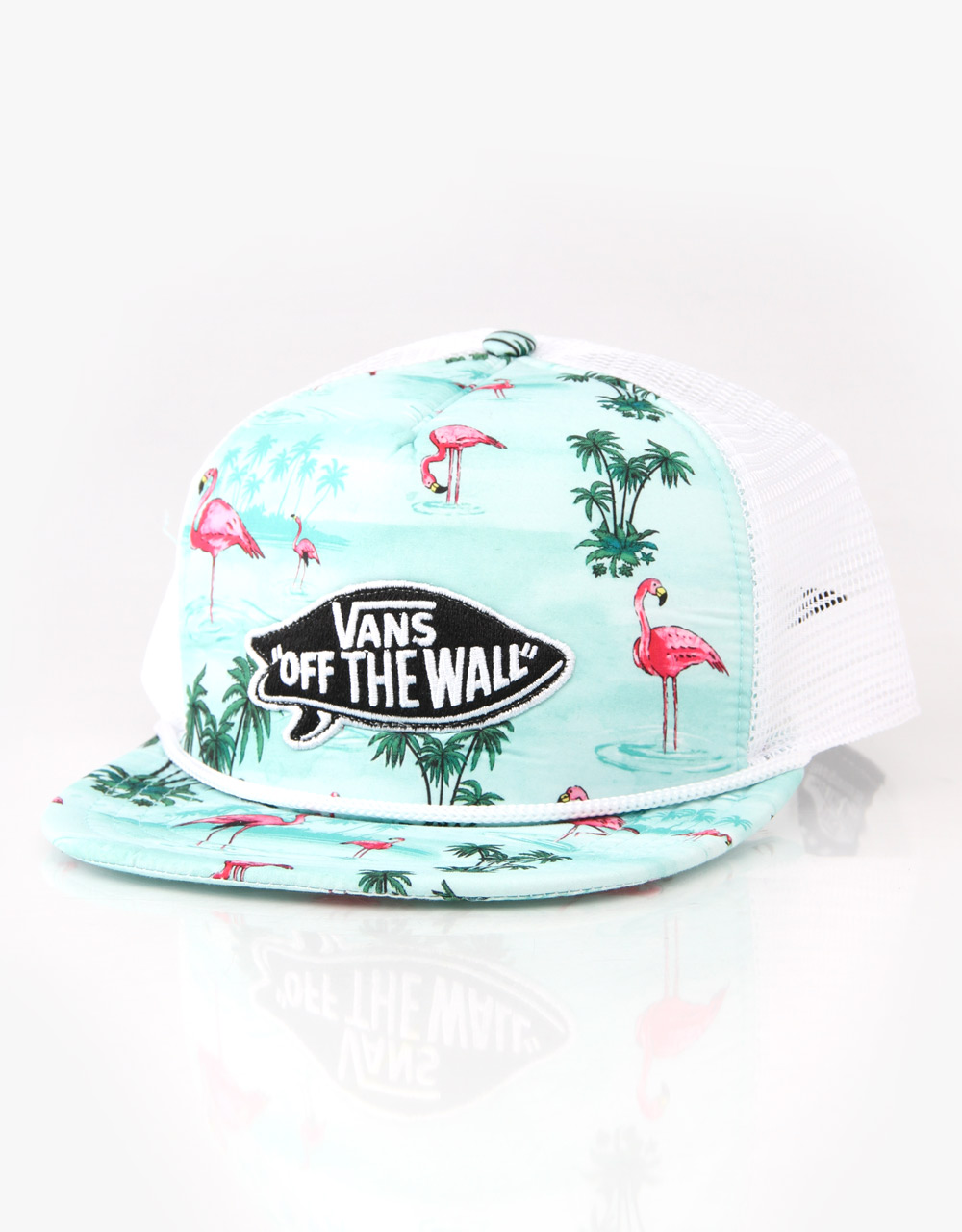 Vans Pink Flamingo Trucker Cap - RouteOne.co.uk