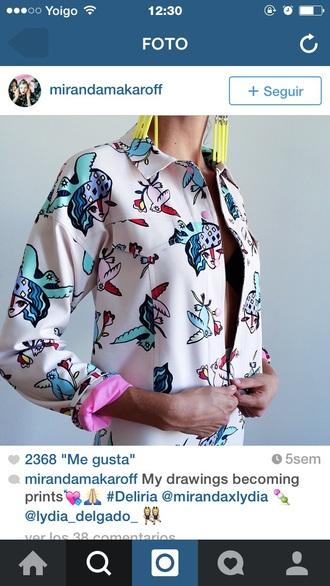 blouse pink top tank top unicorn shirt