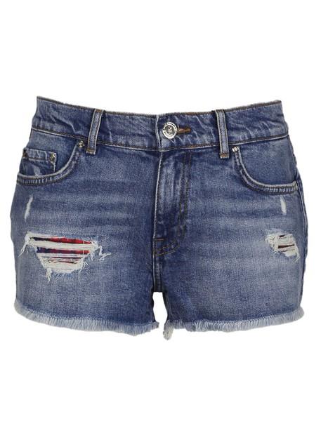 Tommy X GiGi HADID shorts tartan