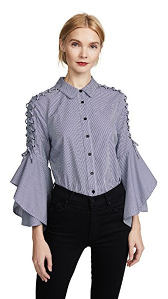 Jonathan Simkhai shirt blue top