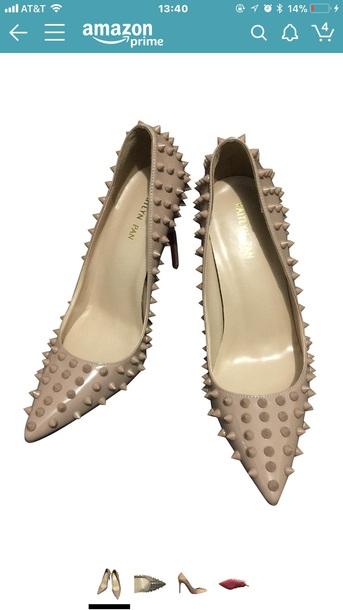 shoes heels spikes stud stilletoes pumps