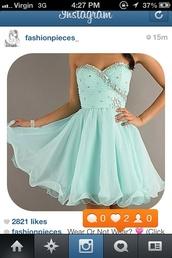 dress,girly,pretty,green,diamonds,party,formal